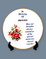 Pet Remembrance Mini Plate