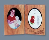 Double Pet Memorial Frame